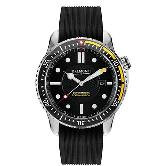 Bremont Supermarine S2000 Men's Black Rubber Strap Watch - Product number 1003127