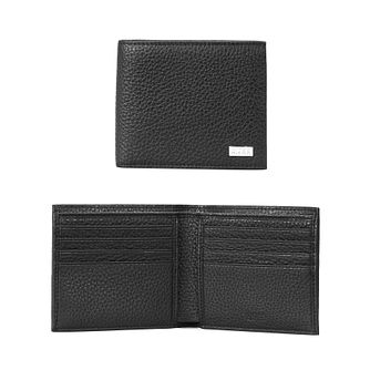 BOSS Crosstown Men's Black Leather Billfold Wallet - Product number 1007548