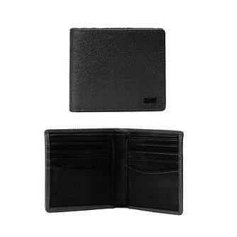 BOSS Signpop Men's Black Leather Wallet - Product number 1008668
