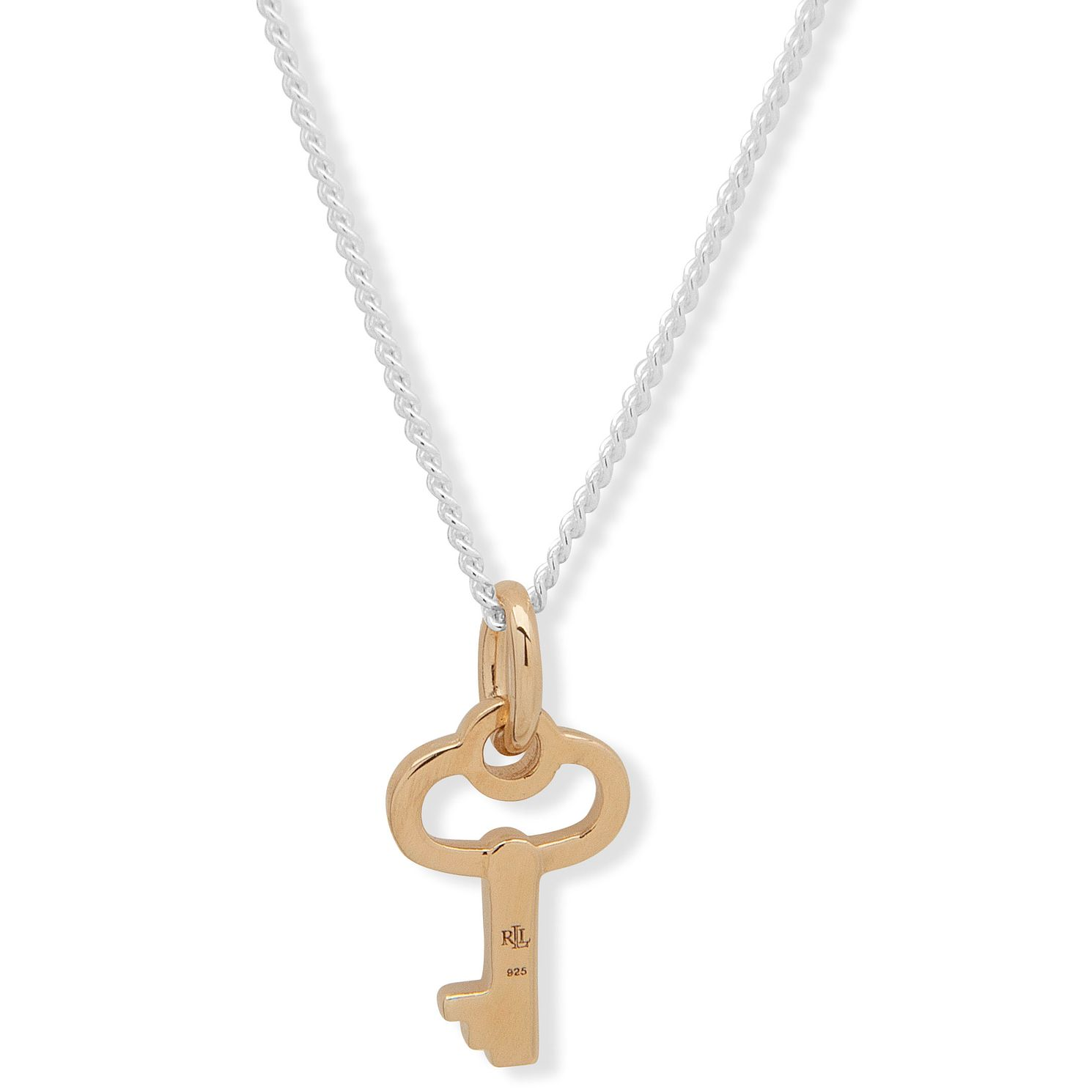 Lauren Ralph Lauren Two Tone Key Pendant - Product number 1008765