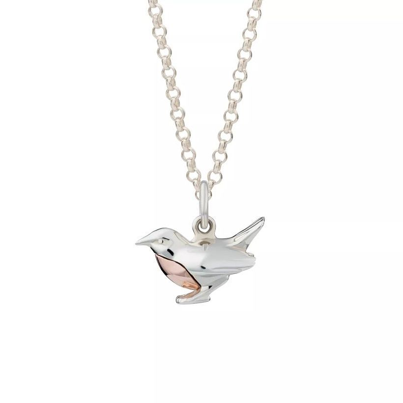 Lily Charmed Silver Robin Necklace - Product number 1011308