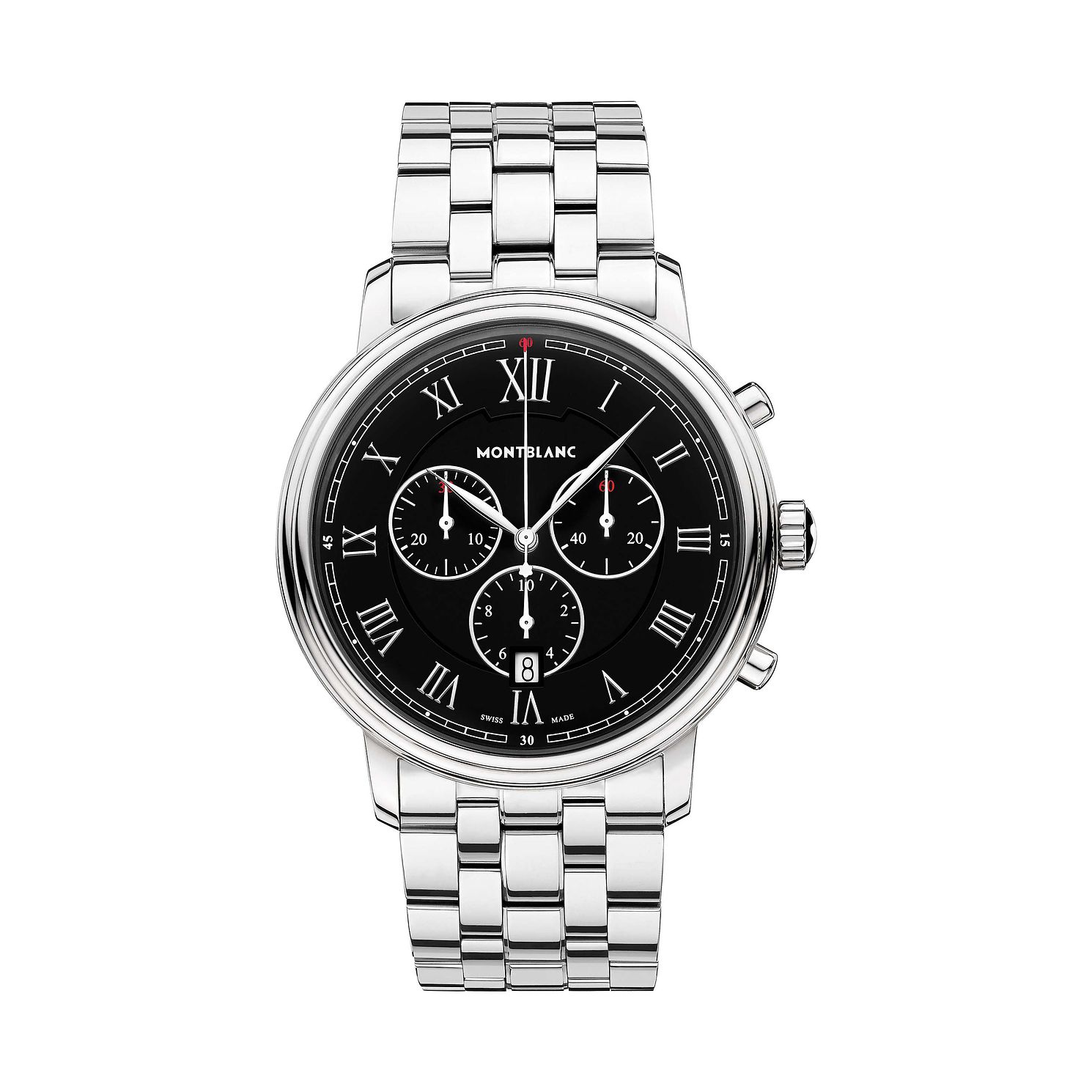 Montblanc Tradition Chrono Stainless Steel Bracelet Watch - Product number 1016199