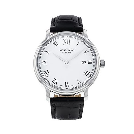 Montblanc Tradition Date Automatic Men's Leather Strap Watch - Product number 1016202