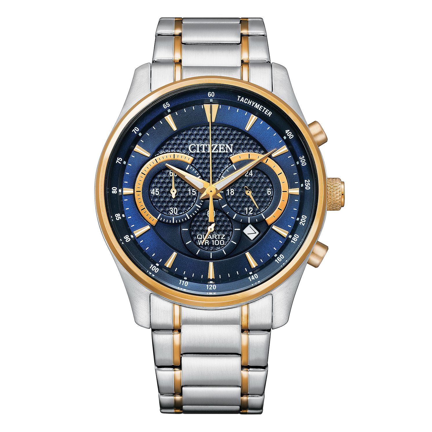 Citizen Chronograph Men's Two Tone Bracelet Watch - Product number 1016849