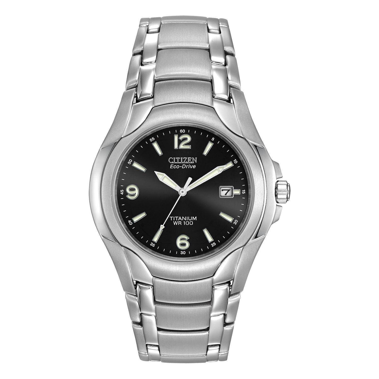 Citizen Eco-Drive Men's Titanium Bracelet Watch - Product number 1016881