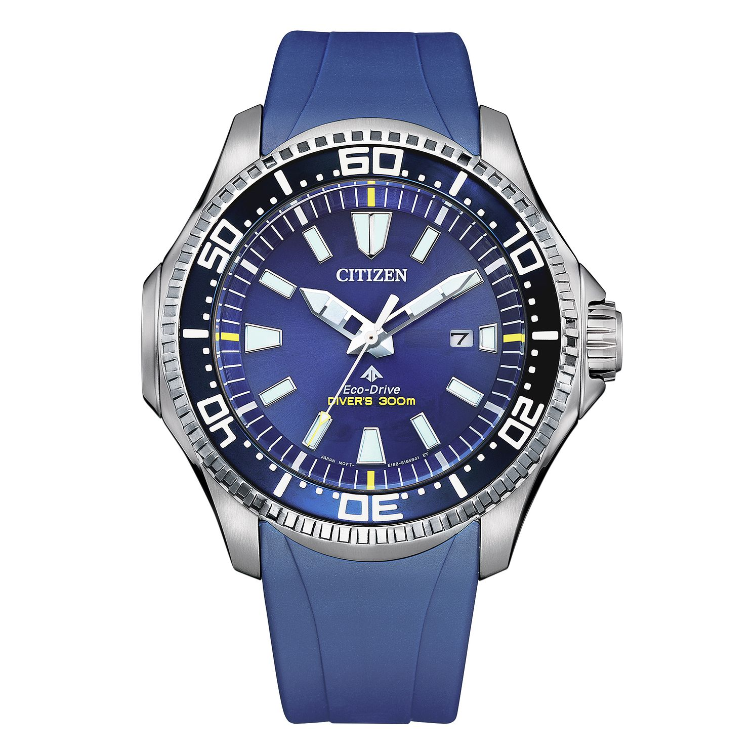 Citizen Promaster Diver Blue Rubber Strap Watch - Product number 1016903