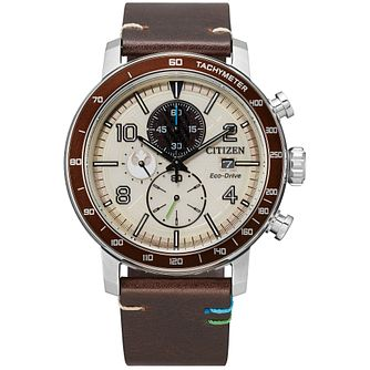 Citizen Star Wars Luke Skywalker Leather Strap Watch - Product number 1017012