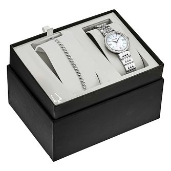 Bulova Crystal Watch & Bracelet Gift Set - Product number 1017365