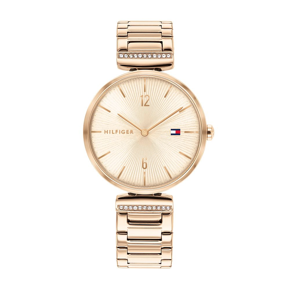 Tommy Hilfiger Aria Ladies' Rose Gold Tone Bracelet Watch - Product number 1017454