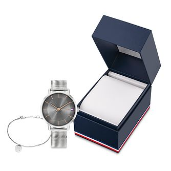Tommy Hilfiger TH1 Ladies' Watch & Bracelet Gift Set - Product number 1017772