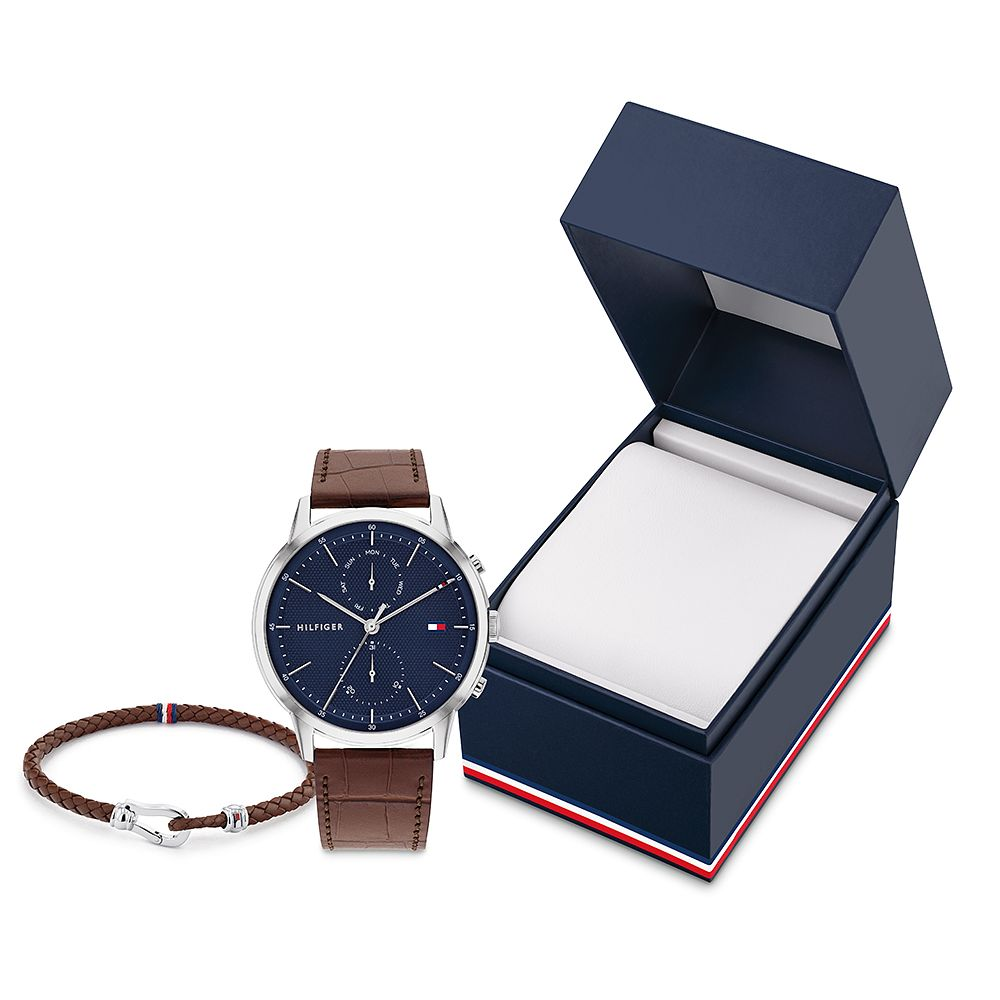 Tommy Hilfiger TH2 Men's Watch & Bracelet Gift Set - Product number 1017853