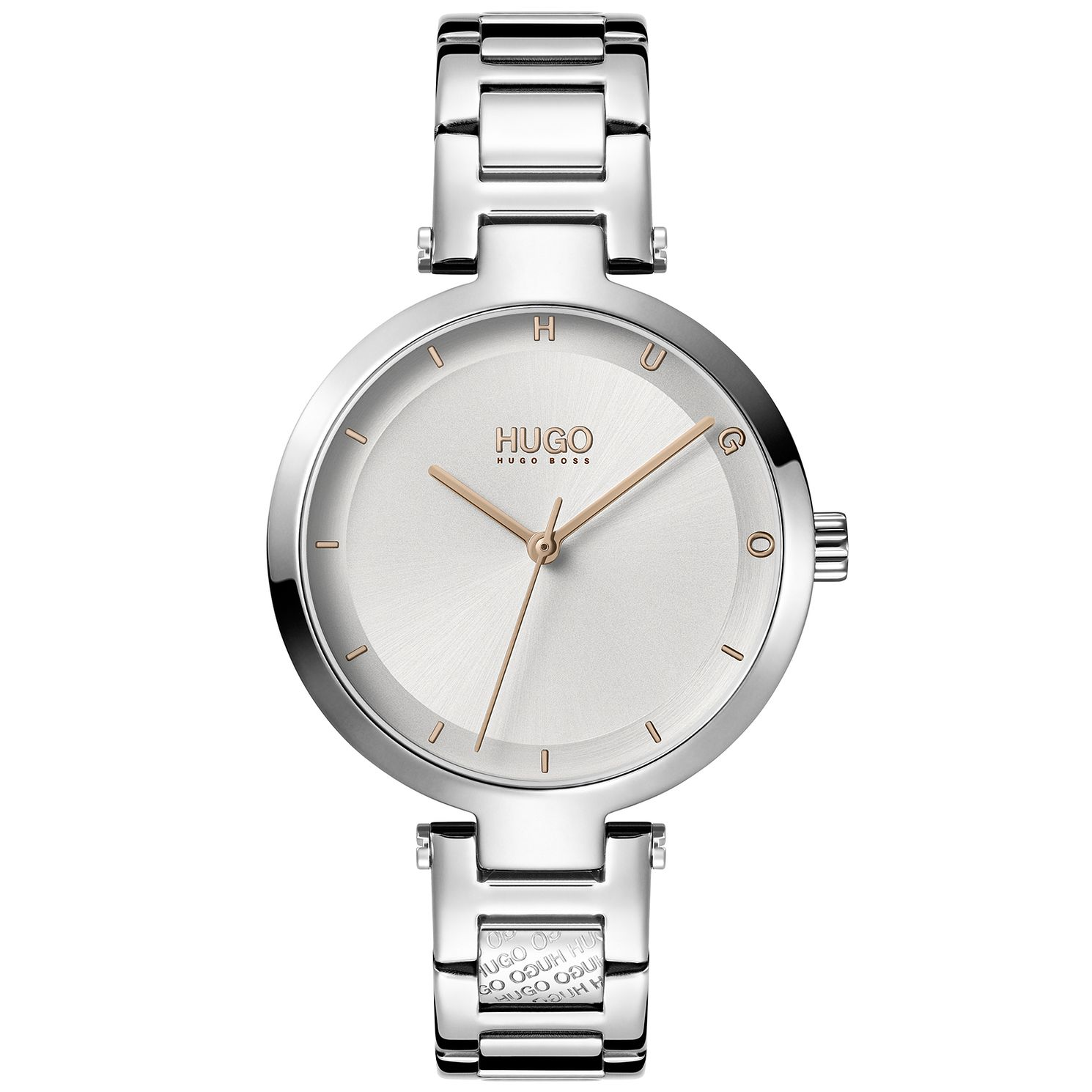 HUGO #HOPE Ladies' Stainless Steel Bracelet Watch - Product number 1017950