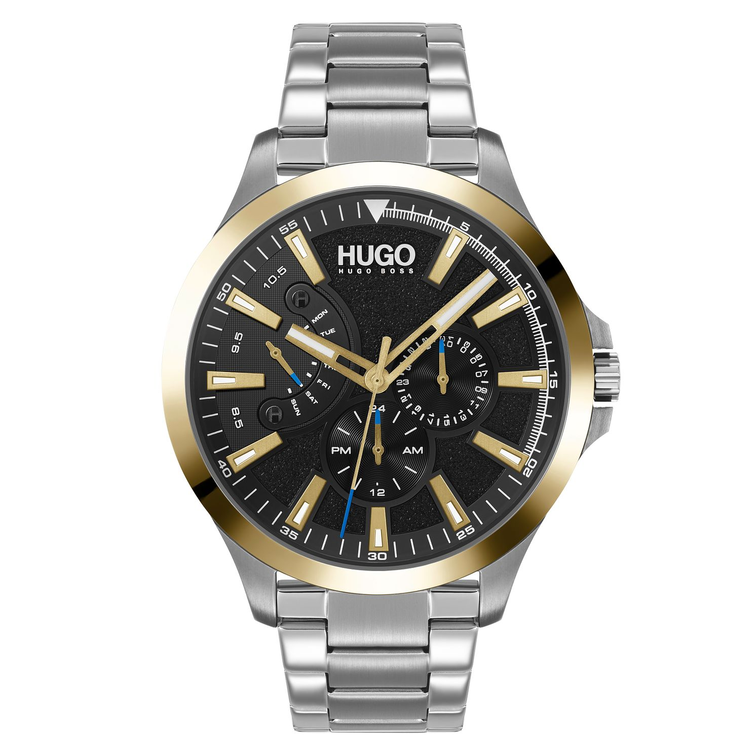 HUGO #LEAP Men's Stainless Steel Bracelet Watch - Product number 1018450