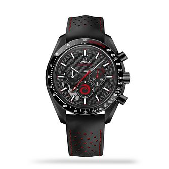 Omega Speedmaster Dark Side of the Moon Black Strap Watch - Product number 1018485