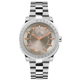 Vivienne Westwood The Mall Stainless Steel Bracelet Watch - Product number 1018566