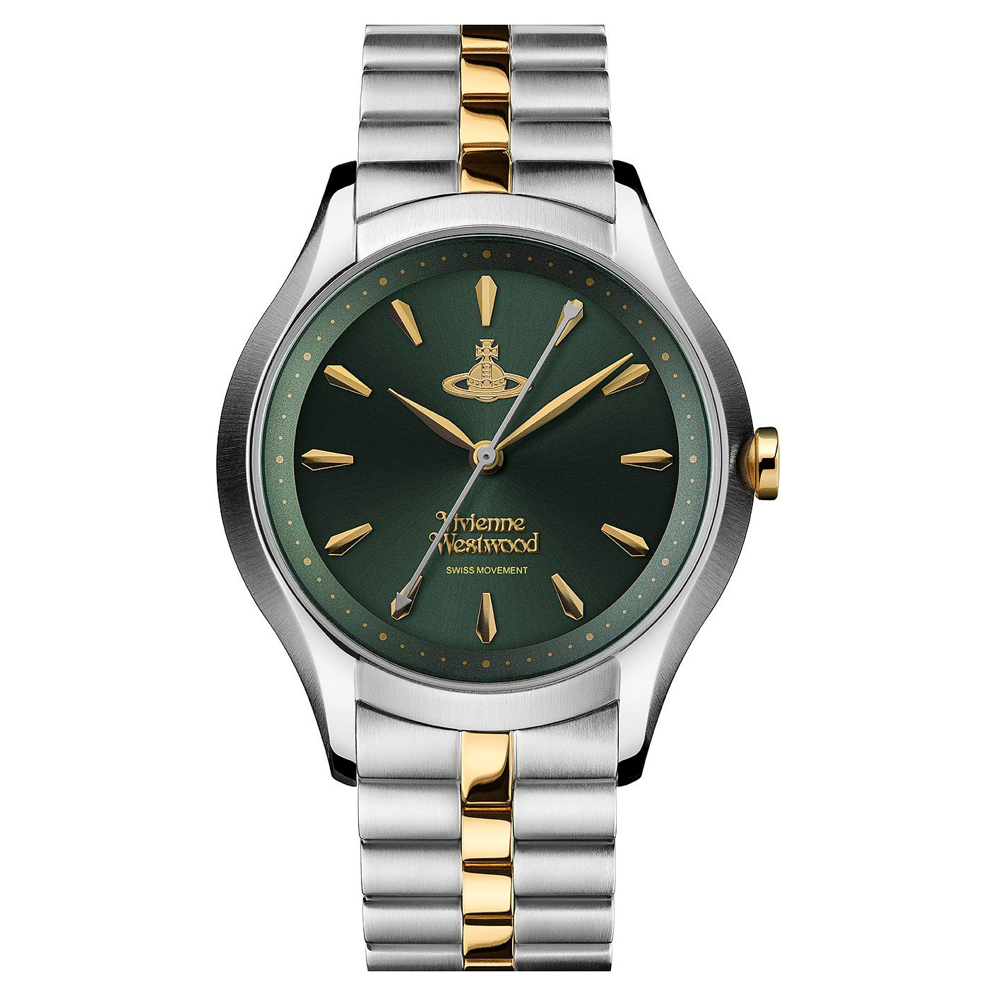 Vivienne Westwood Savile Two Tone Bracelet Watch - Product number 1019651