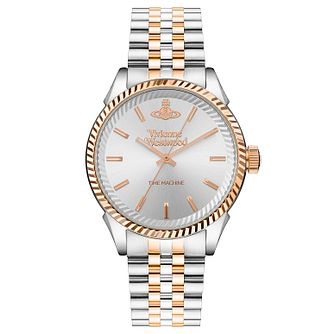 Vivienne Westwood Seymour Men's Two Tone Bracelet Watch - Product number 1020560