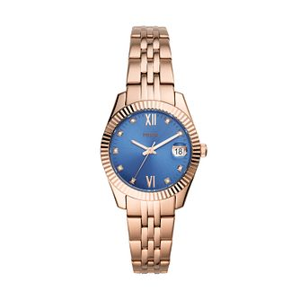 Fossil Scarlette Mini Ladies' Gold Tone Bracelet Watch - Product number 1023462