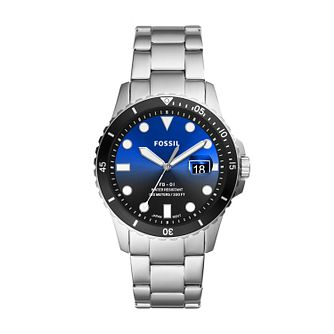 Fossil FB-01 Men's Stainless Steel Bracelet Watch - Product number 1023489