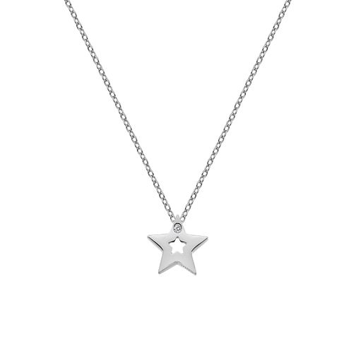 Silver Rhodium Star Pendant - Product number 1023810