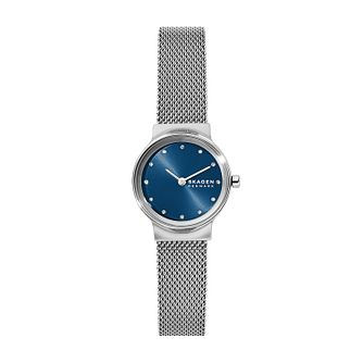Skagen Freja Ladies' Stainless Steel Mesh Bracelet Watch - Product number 1026305