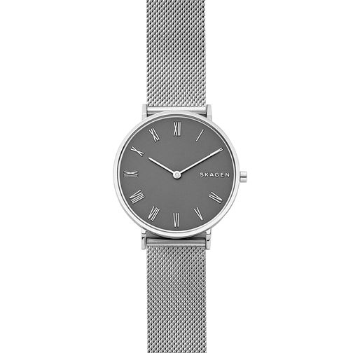 Skagen Slim Hald Ladies' Stainless Steel Mesh Bracelet Watch - Product number 1027751