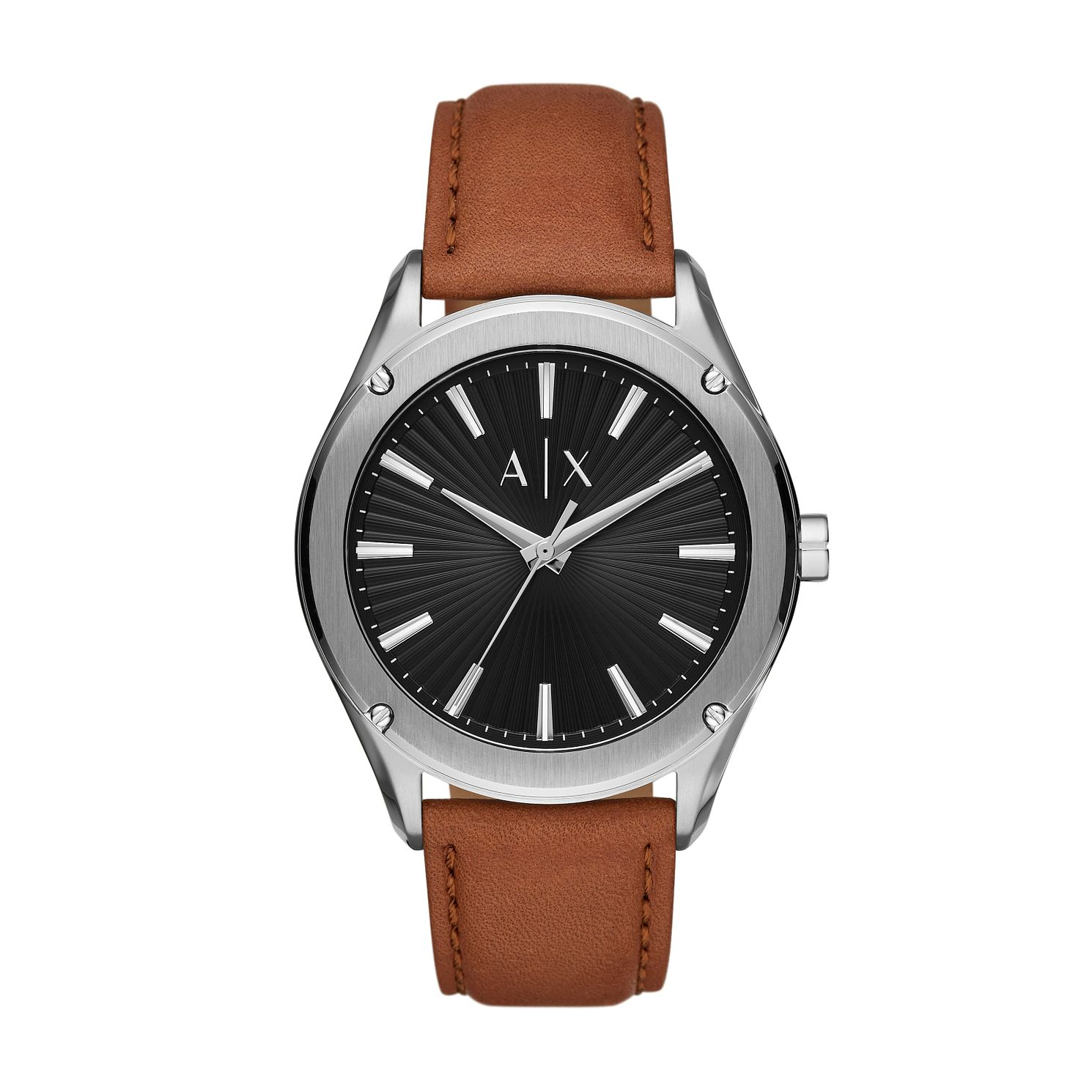 Armani Exchange Men's Brown Leather Strap Watch - Product number 1028170