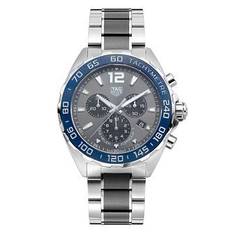 TAG Heuer Men's Formula1 Stainless Steel Bracelet Watch - Product number 1031562