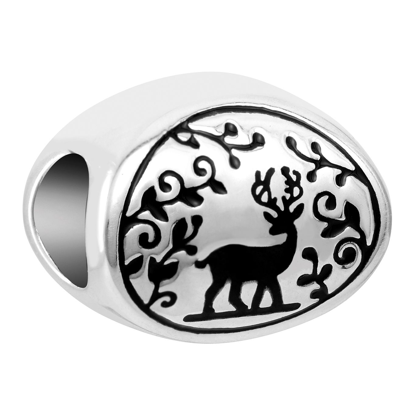 Chamilia Sterling Silver Woodland Deer Charm - Product number 1031880