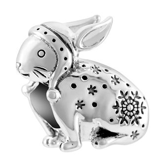 Chamilia Sterling Silver Snow Bunny Charm - Product number 1031899