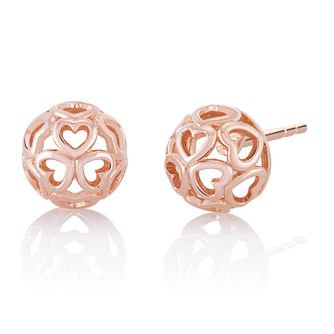 Chamilia Blush Delicate Heart Stud Earrings - Product number 1031996