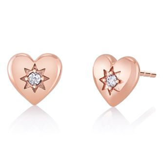 Chamilia Blush Cupid's Heart Stud Earrings - Product number 1032003
