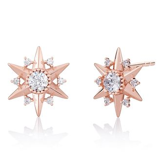Chamilia Blush Starburst Stud Earrings - Product number 1032011