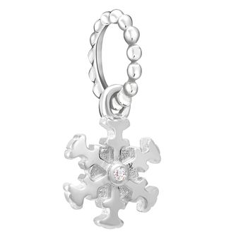 Chamilia Petite Snowflake Charm with Swarovski Crystal - Product number 1032135