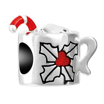 Chamilia Holiday Cocoa Charm with Red & Black Enamel - Product number 1032151