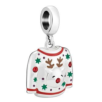 Chamilia Reindeer Jumper Crystal Charm - Product number 1032208
