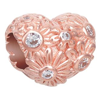 CHAMILIA Blush Zinnia Heart Charm - Product number 1032291