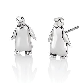 Chamilia Disney Mary Poppins Tuxedo Penguin Earrings - Product number 1032410