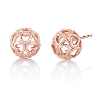 CHAMILIA Blush Delicate Heart Earrings - Product number 1032429