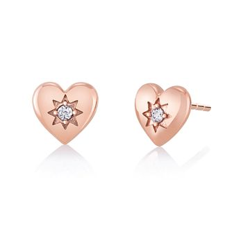 CHAMILIA Blush Cupid's Heart Earrings - Product number 1032437