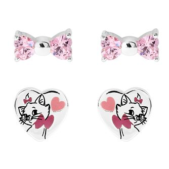 Disney Children's Aristocats Silver Marie Stud Set - Product number 1034227