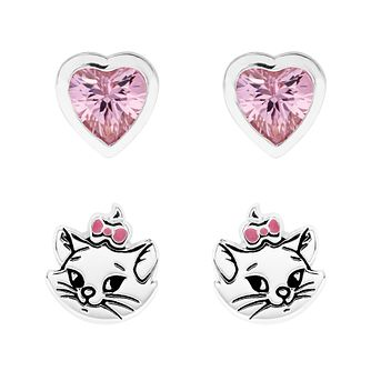Disney Children's Aristocats Silver Marie Stud Set - Product number 1034235
