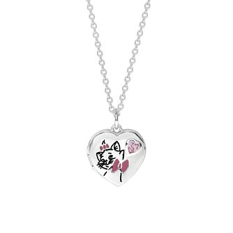 Disney Children's Aristocats Silver Marie Locket - Product number 1034243