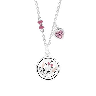 Disney Children's Aristocats Silver Marie Pendant - Product number 1034251