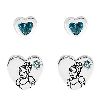 Disney Children's Cinderella Silver Earring Set - Product number 1034308