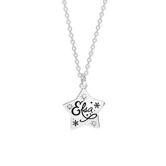 Disney Children's Frozen Silver Star Pendant - Product number 1034758