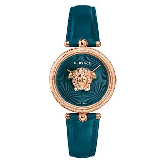 Versace Palazzo Ladies' Green Strap Watch - Product number 1041215