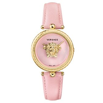 Versace Palazzo Ladies' Pink Strap Watch - Product number 1041223