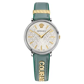 Versace V-Circle Ladies' Courage Strap Watch - Product number 1041231