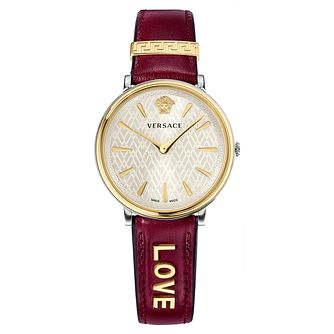 Versace V-Circle Ladies' Love Strap Watch - Product number 1041266